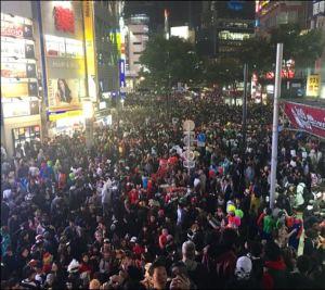 渋谷,ハロウィン,2018,交通規制,場所,日程,時間