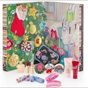 ポール&ジョーボーテの2018年クリスマスコフレの中身画像