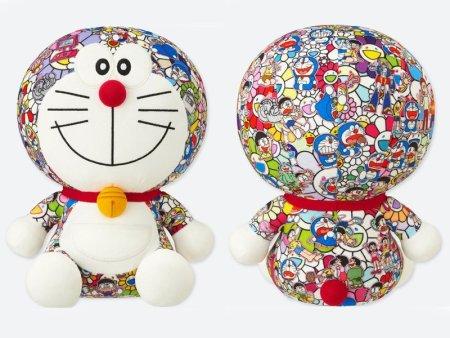 【村上隆】ユニクロのドラえもんぬいぐるみ、人気すぎて定価の倍以上の値段に!!