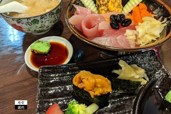 基隆仁愛市場排隊美食 | 食尚玩家推薦的【鈺刺身丼】 丼飯 生魚片 握壽司