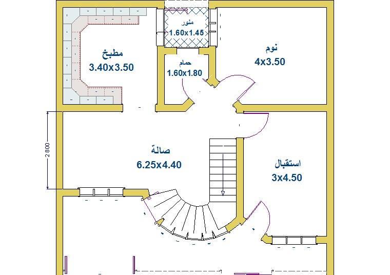 خرائط منازل 100 متر 1010 المنشور الاول منتديات درر العراق