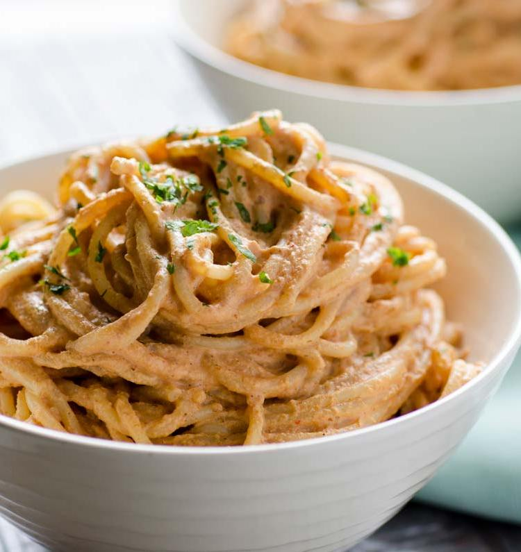 Vegan Creamy Chipotle Pasta « Dora's Table