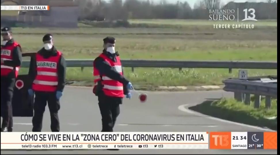 Италия в центре эпидемии коронавируса. 2020 год
