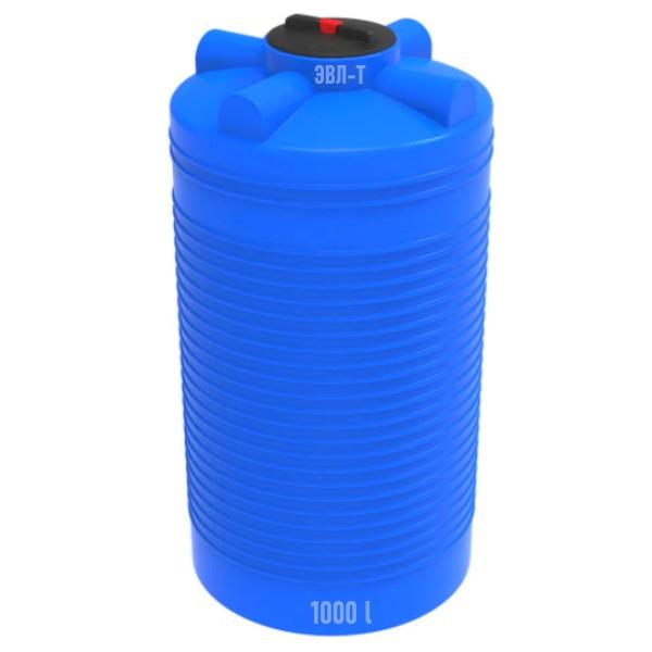 ЭВЛ-Т синяя емкость на 1000 литров (1 куб.метр) купить в Минске. Производство ЭКОПРОМ, СПб