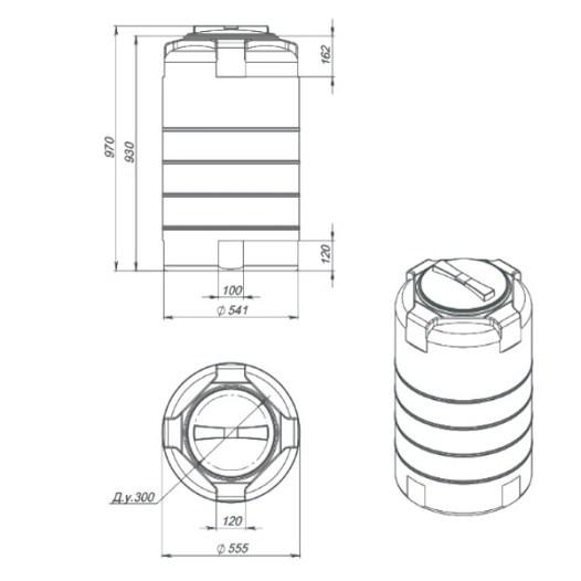 Пластиковая бочка на 200 литров - эксплуатационные данные