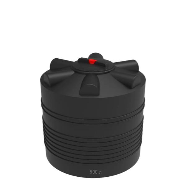 Черная ЭВЛ-500 емкость для хранения воды и др. продуктов в Минске