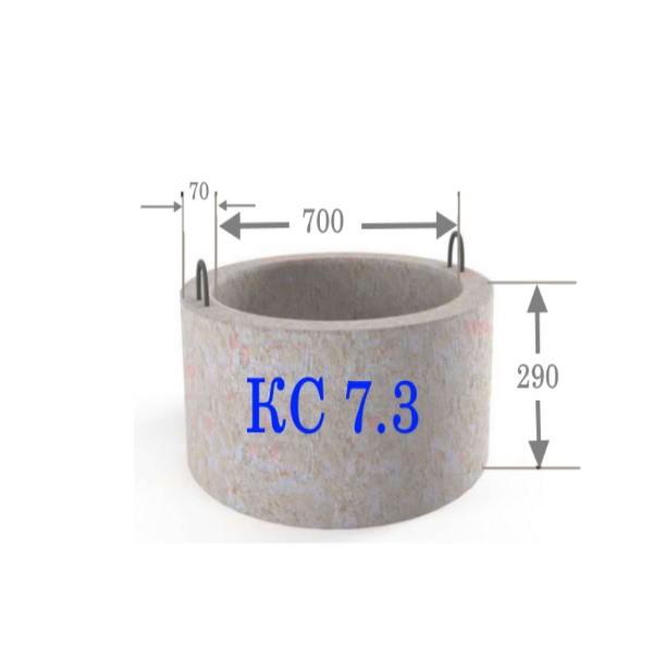 Бетонное кольцо для колодца 7-3 со склада в Минске. Доставка по Беларуси