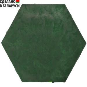 Полимерно-песчаная садовая плитка зеленого цвета