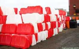 Аренда пластиковых водоналивных блоков в Минске