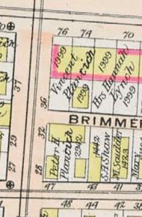 "(Bromley, ""Atlas of the City of Cambridge, 1903)"