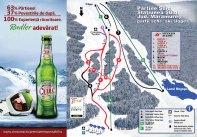 Harta partiilor de schi din Suior - Maramures