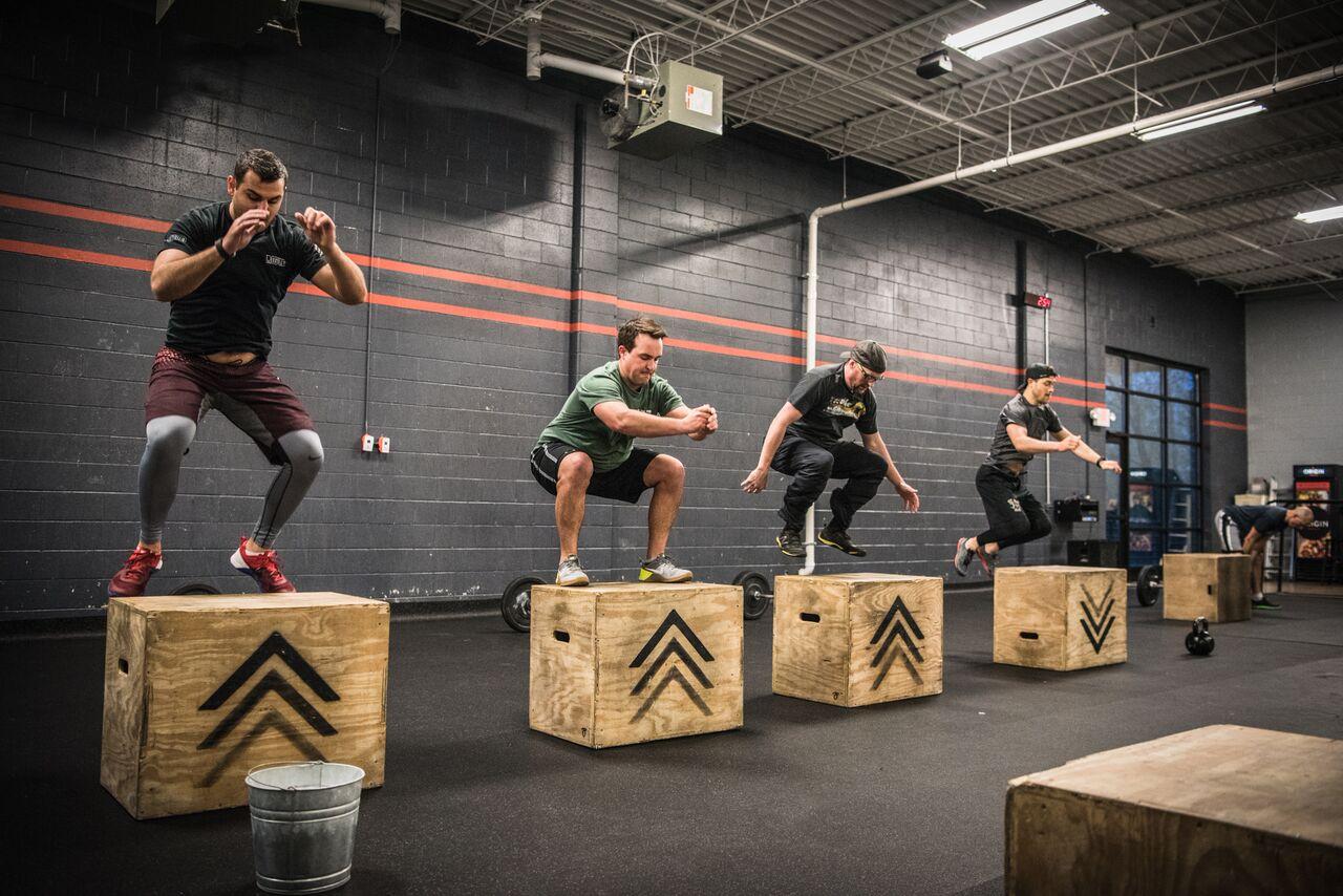 Resultado de imagen de box jump