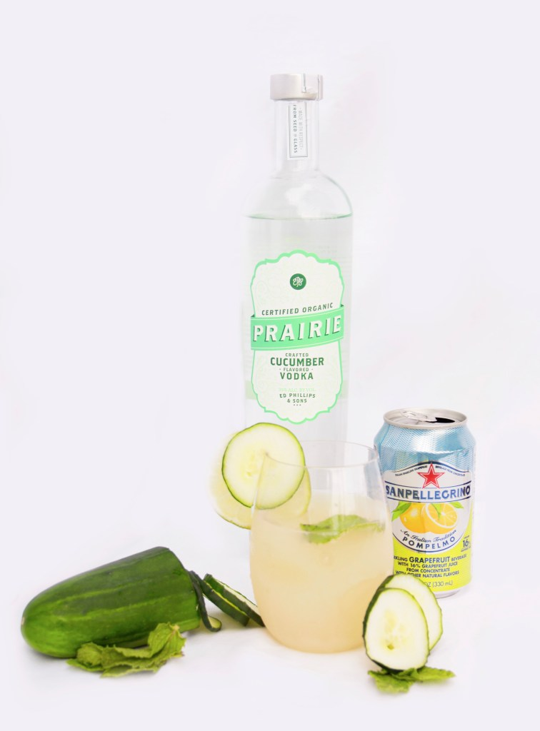 Cucumber Cooler Mix Drink Image