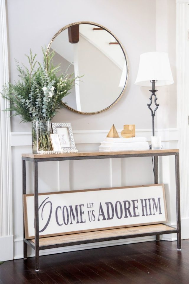 holiday entryway decorating ideas