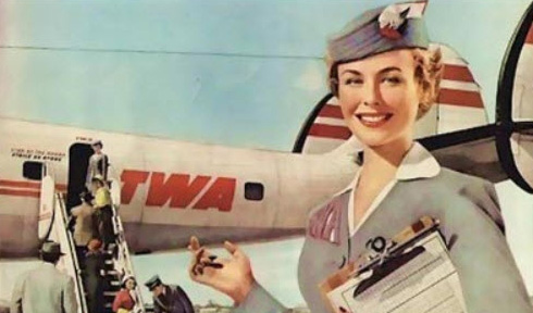 TWA stewardess