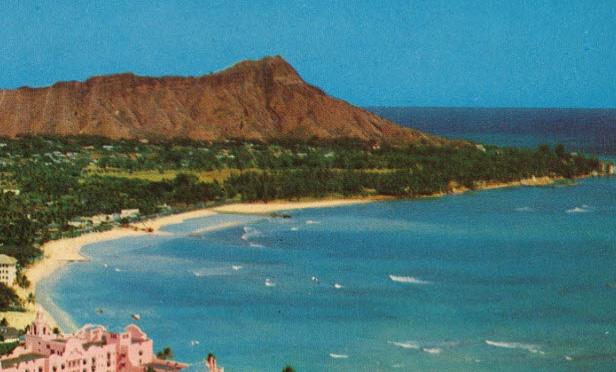 waikiki Beach1953