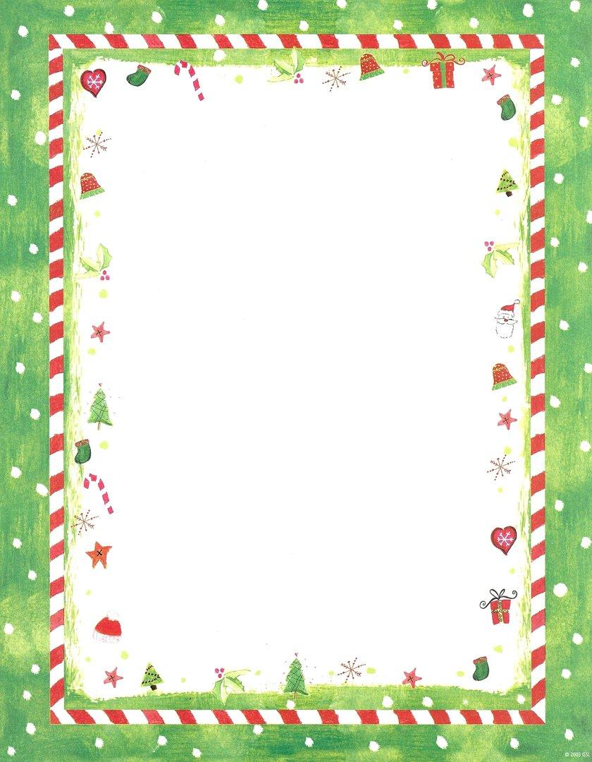 Christmas Candy Border Clip Art