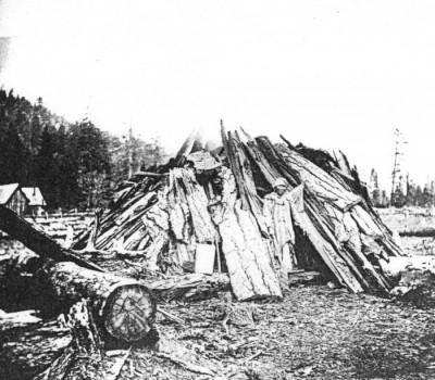 Photo from the Oregon Historical Society via the Cottage Grove Historical Society