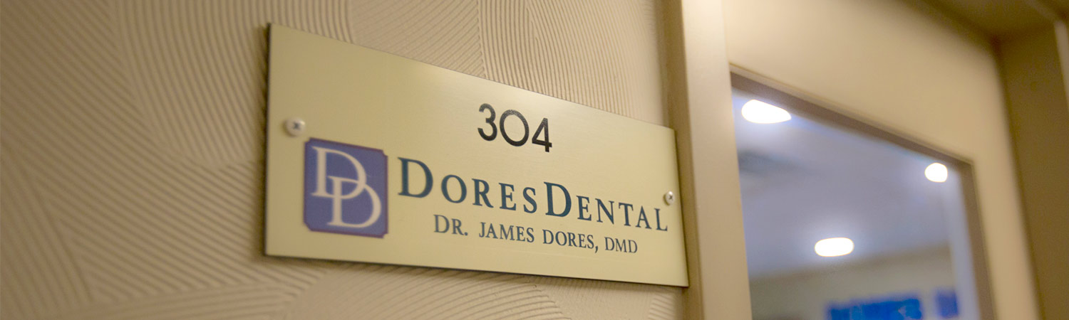 Room 304 or Dr. James Dores, DMD at Dores Dental in Longmeadow, MA