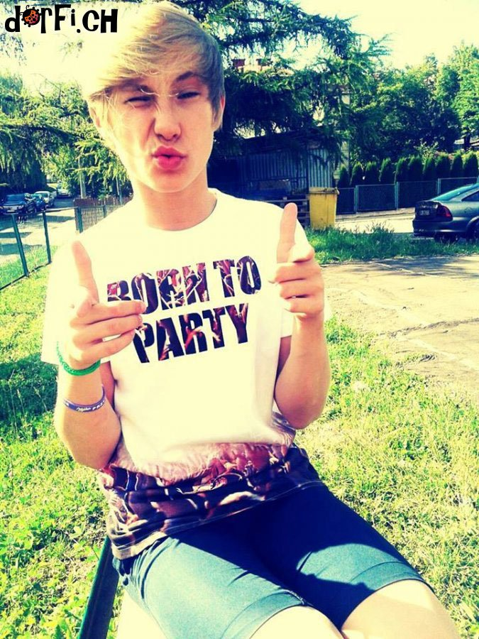 Born to party.