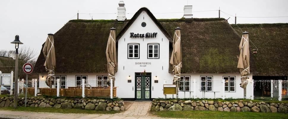 Restaurant Dorfkrug Kampen Bar Grill Aussenansicht