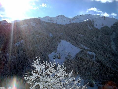 Dorfladen St. Peter-Pagig - Bergpanorama im Winter 2015