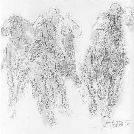 Elfriede Österle - Pferde