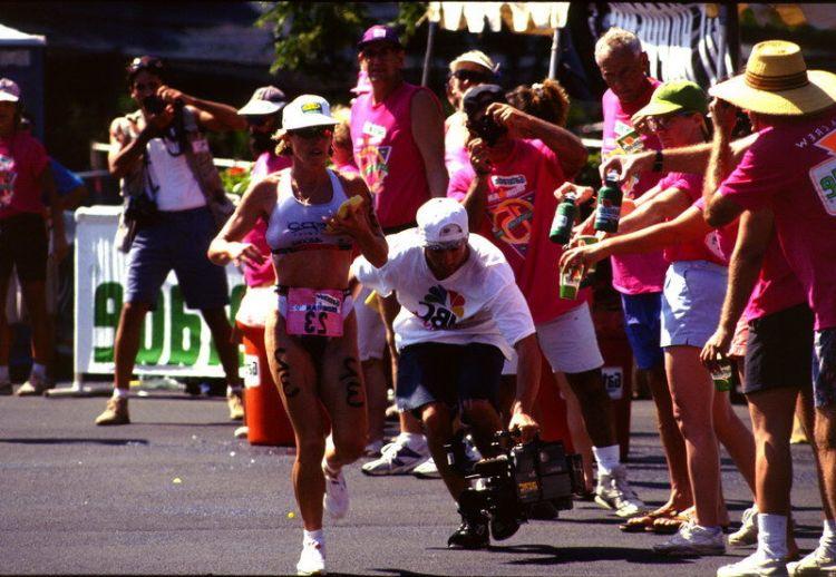 """Siegerin des """"Ironman"""" Triathlons auf Hawaii"""