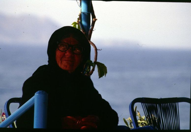Griechische Frau, Kreta