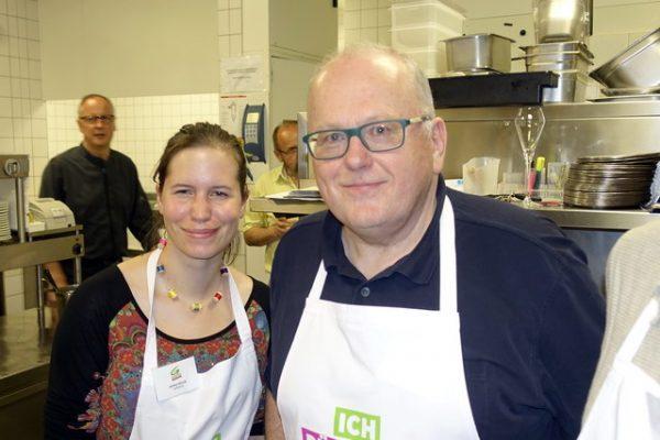 Astrid Müller und Karl Traintinger von der Dorfzeitung