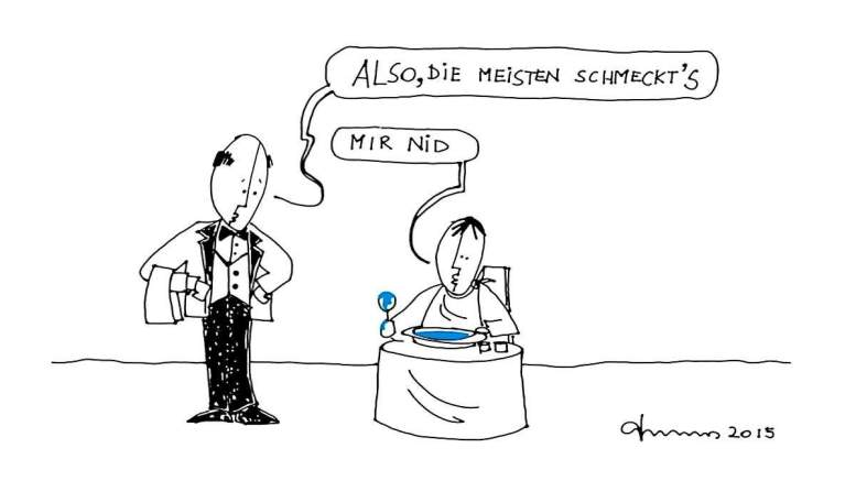 Landtagswahl - Die FPÖ Suppe