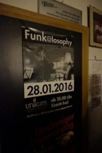Funk@losophy im UNIKUM