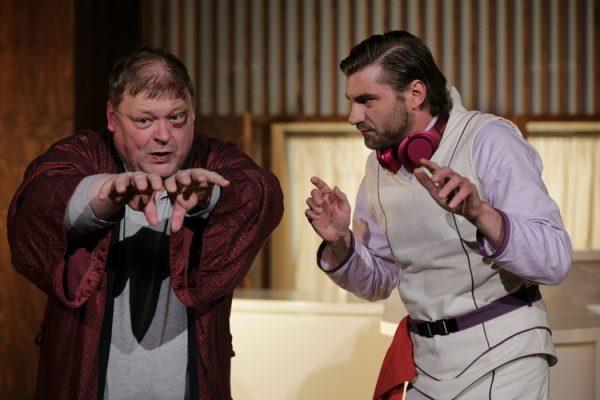 v.l.n.r. Marcus Marotte (Adam), Martin Brunnemann (Licht)