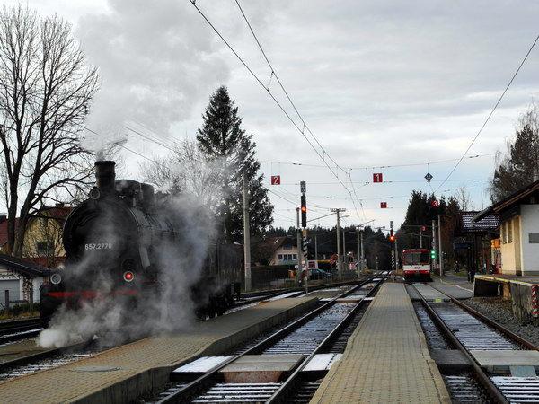 Dampfeisenbahn