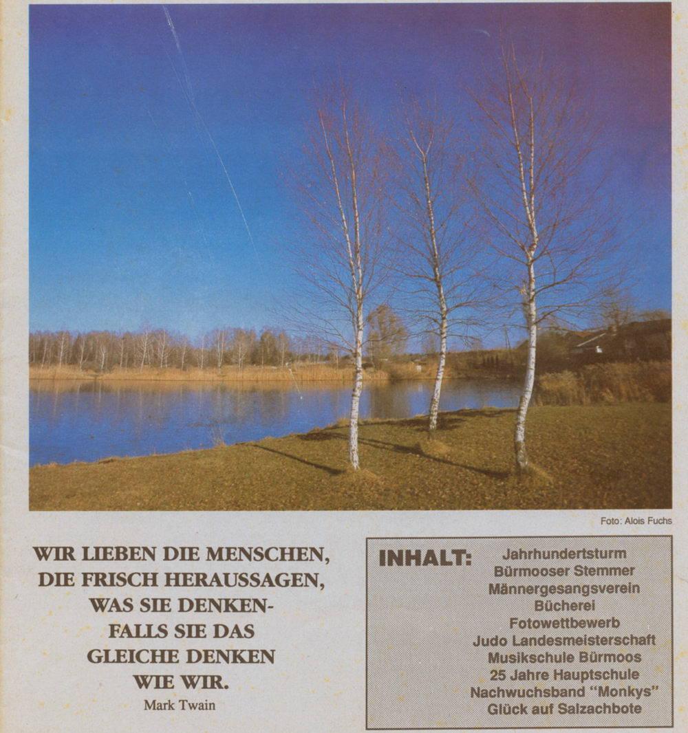 Bürmoos Journal 1990