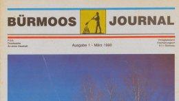 Bürmoos Journal Ausgabe 1 - März 1990