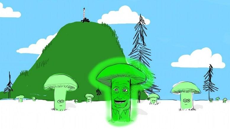 Grüne Pilze in der Politik