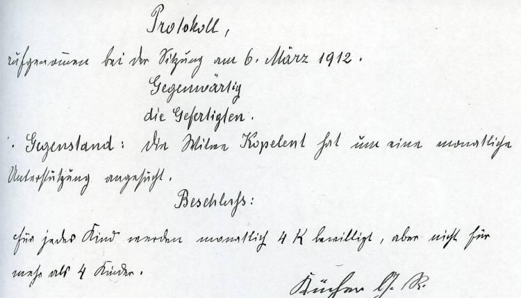 07 1912 Unterstützung Kopelent + Kinder