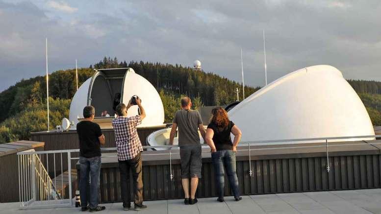Sternwarte am Hausberg