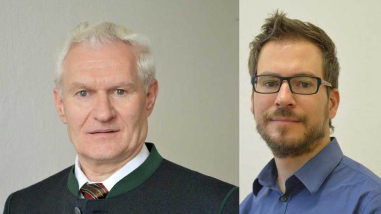 Franz Schabhüttl & Andreas Wetz | Foto: edition a Verlag