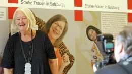 Vernissage Rochus Gratzfeld, Schloss Mirabell, Starke Frauen