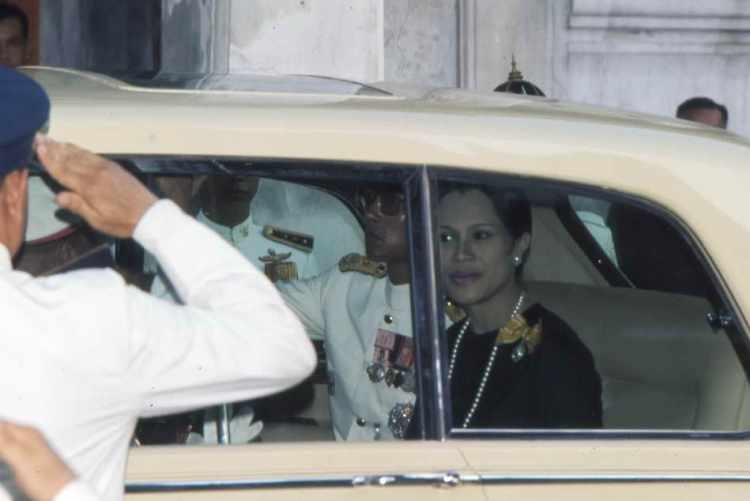 Das thailändische Königspaar