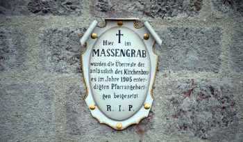 Massengrab Friedhof Lamprechtshausen