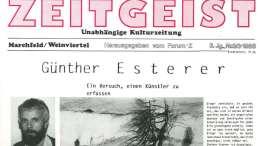 Zeitgeist Ausgabe 3/ 1986