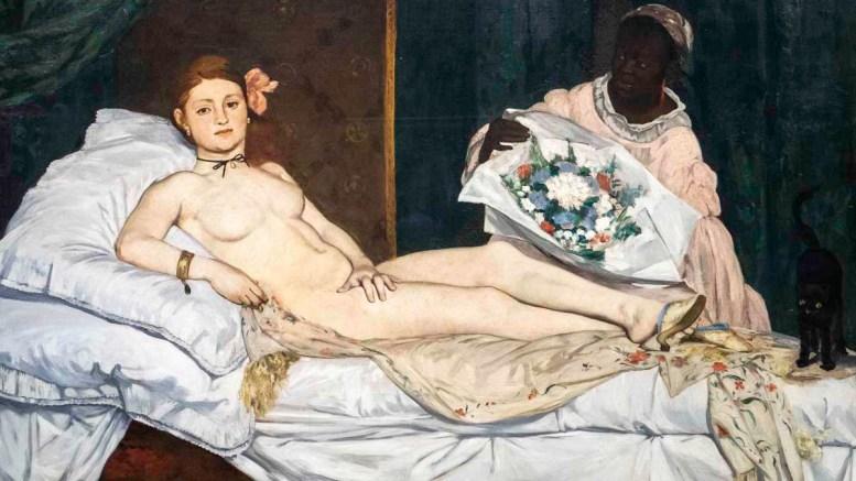 Édouard Monet, Olympia, Orsay Museum, Paris