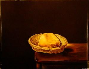 Copy of Salvador Dali by Irina Agalakova. Oil on canvas.