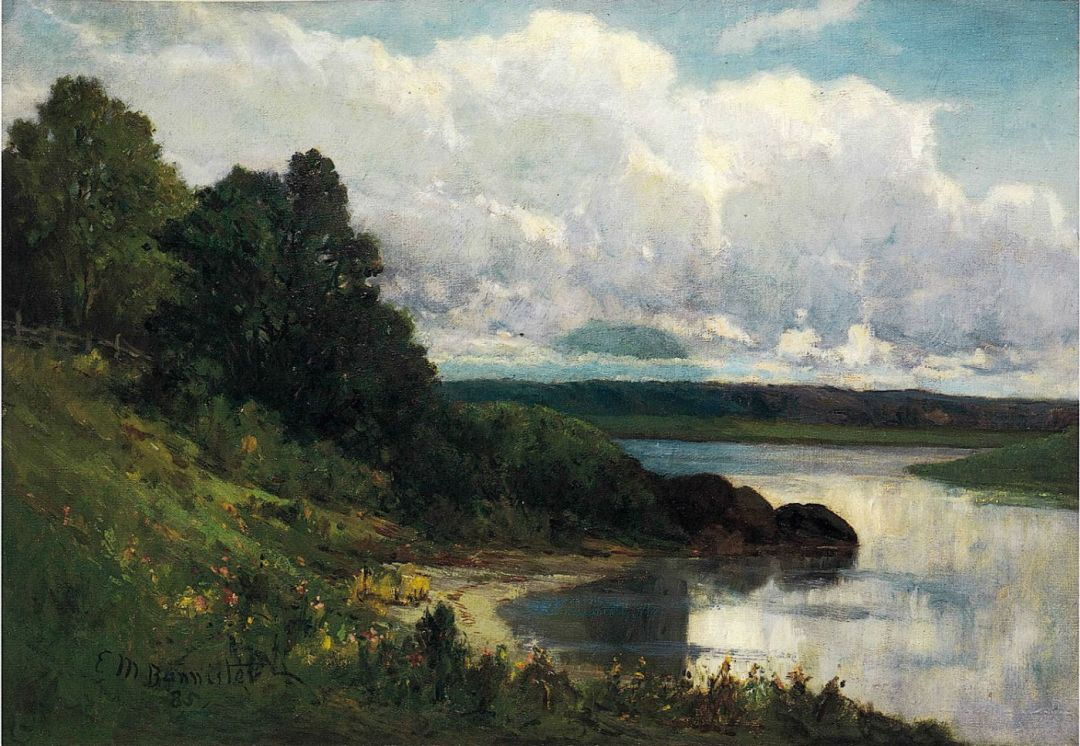 'Palmer_River'_by_Edward_Mitchell_Bannister,_1885