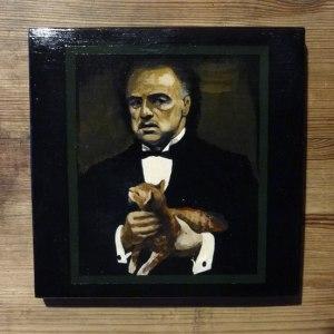 Картина Панно Крёстный отец