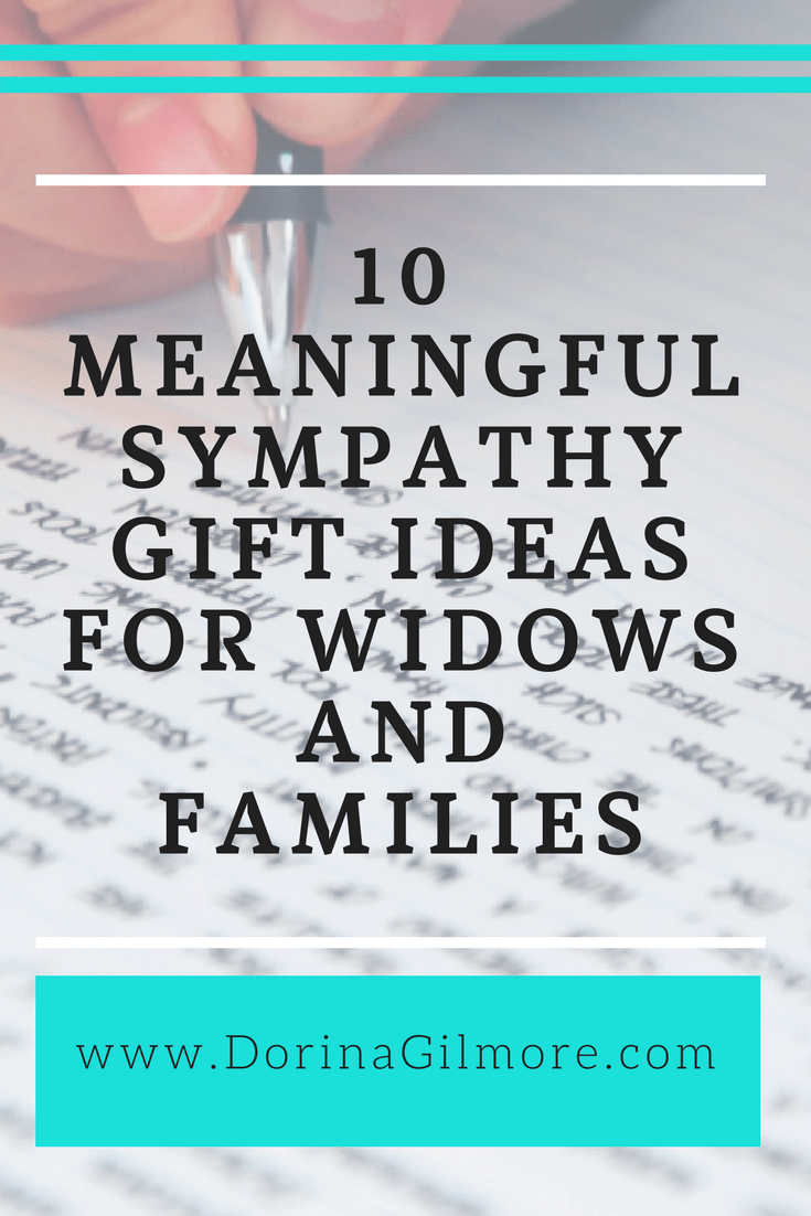 What to give a grieving widow
