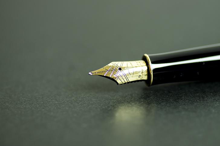 ライティングに使う万年筆